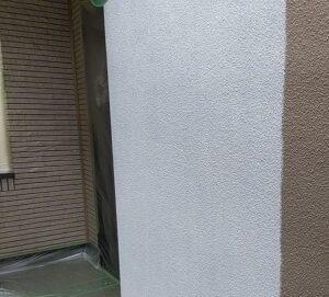 千葉県成田市 H様邸 屋根重ね葺き工事 外壁塗装 外壁中塗り 上塗り (1)