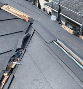 千葉県成田市 H様邸 屋根重ね葺き工事 外壁塗装 棟板金設置 屋根施工完了 (6)