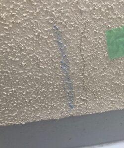 千葉県成田市 H様邸 屋根重ね葺き工事 外壁塗装 外壁劣化補修 ひび割れ(クラック) (3)
