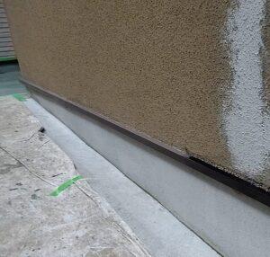 千葉県成田市 H様邸 屋根重ね葺き工事 外壁塗装 水切り塗装 手順 (4)